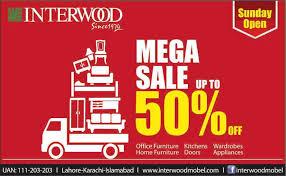 Interwood Sale 2014 June Islamabad Lahore Karachi