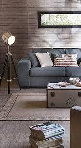 but fr canapé canapé convertible 4 places elsa tissu gris clair inspiration