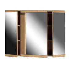 furniture mirrored sliding door bathroom wall cabinet by wayfair