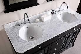 creative of double sink vanity top 60 inch interiorvues bathroom