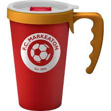 Promotional Reusable Universal Coffee Mugwith Handle