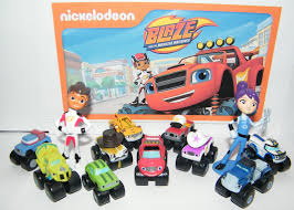 99 Monster Truck Party Favors BLAZE AND THE Machines Set Of 13 Fun Figures