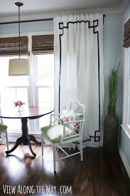 Ikea Lenda Curtains Grey by Tutorial How To Update Out Dated Tab Top Curtains