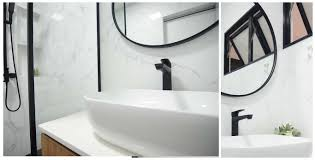 Butterpaperstudio: Reno@T4 Maisonette - Black White Bathroom Ideas! 30 Stunning White Bathrooms How To Use Tile And Fixtures In Bathroom Black White Bathroom Tile Designs Vinyl 15 Incredible Gray Ideas For Your New Brown And Pictures Light Blue Grey Ideas That Are Far From Boring Lovepropertycom The Classic Look Black Decor Home Tree Atlas Tips From Hgtv 40 Trendy Aricherlife Xcm Aria Brick Wall Tiles With Buttpaperstudio Renot4 Maisonette