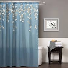 Blue Ombre Curtains Walmart by Gorgeous Interdesign Ombre Fabric Shower Curtain Walmart Blue And