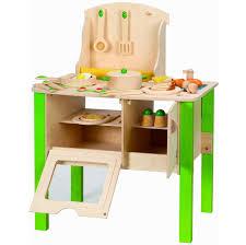 hape gourmet kitchen kid s wooden play kitchen in green hape