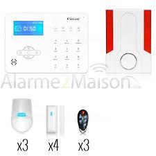 maison sans fil focus gsm rtc 4 à 5 pièces