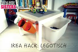 diy ikea lack kinderzimmer hack lego tisch housesisters