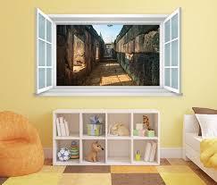 3d wandtattoo fenster ruine alt antik mauer wand aufkleber wanddurchbruch wandbild wohnzimmer 11bd1318 wandtattoos und leinwandbilder günstig