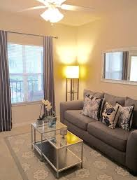 small space living nautical navy and grey apartment living room