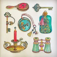 TheTimeGarden Adult ColoringColoring BooksDrawing ArtMalaysia CulturalWatercolorsColor