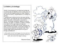 Imagen De La Fabula La Liebre Y La Tortuga Para Colorear