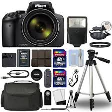 Nikon COOLPIX P900 Digital Camera 83x Optical Zoom Wi Fi Black