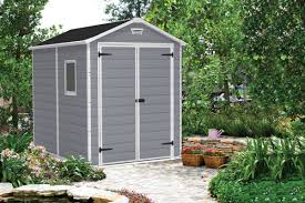 Suncast Tremont Shed 8 X 13 by Keter Manor 6 Ft W X 7 Ft 5 In D Plastic Storage Shed U0026 Reviews