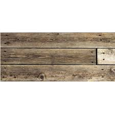 Waterhog Floor Mats Canada by Waterhog Rustic Wood Real Runner Faux Floor Mat At Brookstone U2014buy Now
