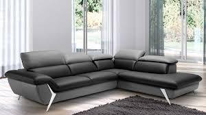 canapé angle en cuir grand canapé d angle méridienne 6 places cuir haut de gamme