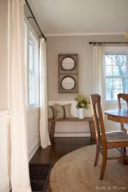 Curtain Ideas For Living Room Pinterest by Best 25 Dining Room Curtains Ideas On Pinterest Dinning Room