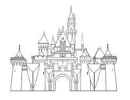 Click To See Printable Version Of Disney Castle Coloring Page