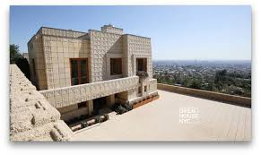 100 Frank Lloyd Wright Textile Block Houses Open House On Twitter This Week Tour The Ennis Housethe