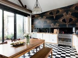 papier peint cuisine cuisine osez le papier peint