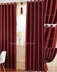 Blackout Curtain Liner Fabric by Blackout Curtain Lining Fabric In Red Color Artificial Fiber Material