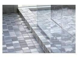 shower curb shower curbs with quartz shower curb cap