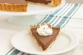 chocolate mascarpone tart