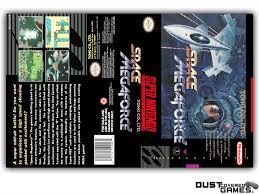 Space Megaforce - Super Aleste SNES Super Nintendo Game Case Box ...