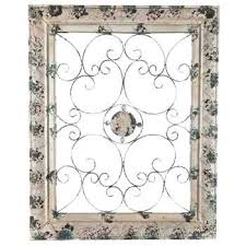 Pewter Wall Art Simple Ideas Hobby Lobby Metal Decor With Floral Center