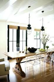 Farmhouse Dining Table Lighting Wood Room Light