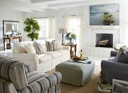 Haverty Furniture For A Beach Style Living Room With A Beach Style