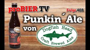 Dogfish Pumpkin Ale 2017 by Punkin Ale Von Dogfishhead Probier Tv Craft Beer Review 408