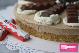 kinderschokoladen torte no bake sandras kochblog