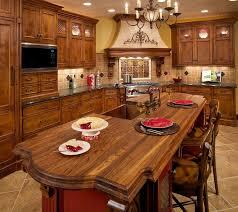 Rustic Kitchen Islands Modern Decor Green Cabinets