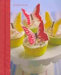 Cupcakes Cookies Mini Address Book