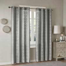Bed Bath And Beyond Gray Sheer Curtains by Buy Sheer Grey Window Panels From Bed Bath U0026 Beyond