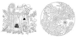 Johanna Basford Enchanted Forest Sample Illustrations