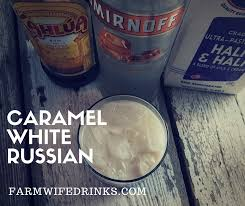 Pumpkin Spice Caramel Macchiato by Caramel White Russians The Farmwife Drinks