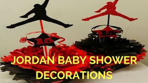 jordan baby shower decorations youtube