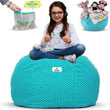 Amazon.com: Kroco Stuffed Animal Storage Bean Bag Chair For Kids ... Amazoncom Jaxx Nimbus Spandex Bean Bag Chair For Kids Fniture Creative Qt Stuffed Animal Storage Large Beanbag Chairs Stockists Best For Online Purchase Snorlax Sizes Pink Unique Your Residence Inspiration Childrens Bean Bag Chairs Ikea Empriendoclub Sofa Sack Plush Ultra Soft Memory Posh Stuffable Ultimate Giant Foam
