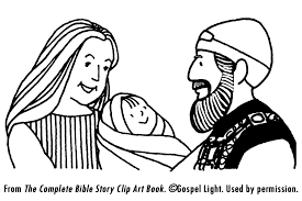 Birth Of John The Baptist Coloring Page