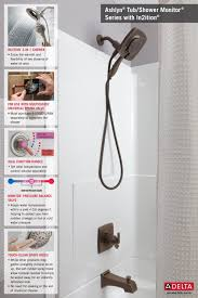 Delta Linden Faucet Home Depot by Delta Ashlyn In2ition 1 Handle Tub And Shower Faucet Trim Kit In