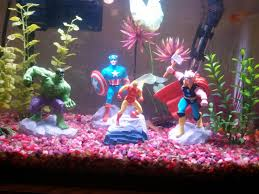 Petco Fish Aquarium Decorations by My Fishtank My Local Petco Was Selling The Avengers So Of Course