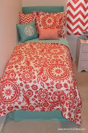 Dorm Room Bed Skirts by 60 Best Coral And Teal Bedding Images On Pinterest Teal Bedding