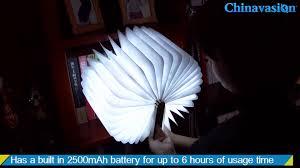 Lumio Book Lamp Walnut by Folding Book Light Foldable Led Light Review U0026 Unboxing Youtube