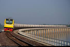 100 Banglamung The LPG Freight Train No 532 SamranKhonKaen Chon Buri