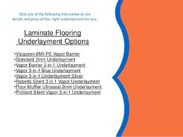 Laminate Flooring With Pre Attached Underlayment by How To Select Underlayment For Laminate Flooring