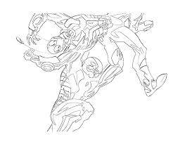 Printable Ant Man AntMan Power Coloring Pages