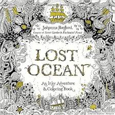 Image Lost Ocean An Inky Adventure Coloring Book By Johanna Basford On Amazon