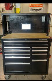 Pin By Robert Walker On Husky Tool Box Hutch | Pinterest | Husky ... Husky Alinum Truck Bed Tool Box 620x19 12500 Pclick Husky 22 In Connect Rolling System Diy Creators Shop Truck Boxes At Lowescom Amazoncom Liners Under Seat Storage Fits 0713 Silverado Ipirations Lowes Kobalt Chest 2013 F150 Truck Tool Box Install And Review Less Than 5 The Home Depot This Toolbox On Wheels Is Touring The Country Defing A Style Series Redesigns Your Home Low Profile North State Auctions Auction Big Ross Downsizing Event Item